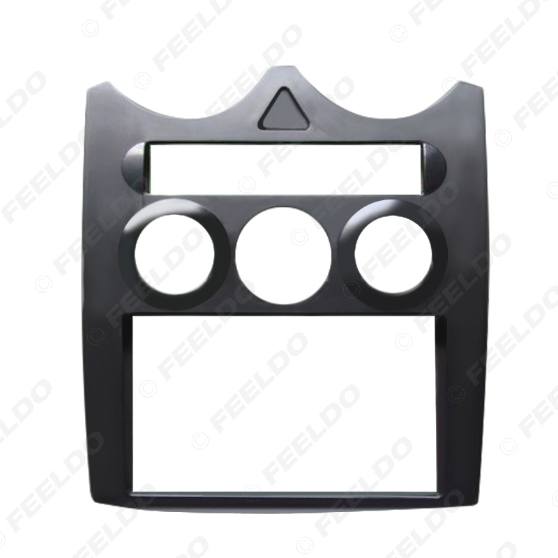 Picture of Car Stereo CD DVD Radio Fascia Panel Frame For ROVER MG3 2-Din Dash Face Plate Installation Mount Kit
