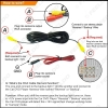 Picture of HD Car Backup Rear View Camera With LED Light For KIA Cerato (09~13) /Forte (09~13) Night Vison Reverse Car Camera Kit