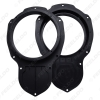 Picture of Car Speaker Spacer Adapter Horn Mounts For Volkswagen Old Jetta R36 New Magoton CC Front Door Stereo Refitting Rings