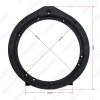 """Picture of 6.5"""" Black Car Modified Speaker Spacer for Honda Accord Civic Fit Jazz Audio Solid Speaker Spacer Mount Pad"""