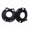 Picture of 2Pcs/pair H7 LED Headlight Bulb Retainers Holder for Hyundai Mistra New Tucson KIA Carnival H7 Bulb Base Adapter