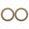 "Picture of 2PCS 6.5"" Universal Car Stereo Speaker Spacer Wooden Rings Bracket Holder Adapter for Car Bus Truck"