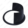"""Picture of 2pcs 6"""" Car Auido Horn Speaker Waterproof Cover Plastic Spacer with Protective Cushion Horn Retaining Door Pad"""