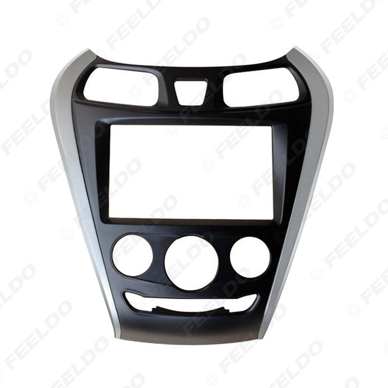 Picture of Car 2Din DVD Radio Fascia Frame for Hyundai EON 2011+ Installation Trim Dash Kit Frame Panel Adapter