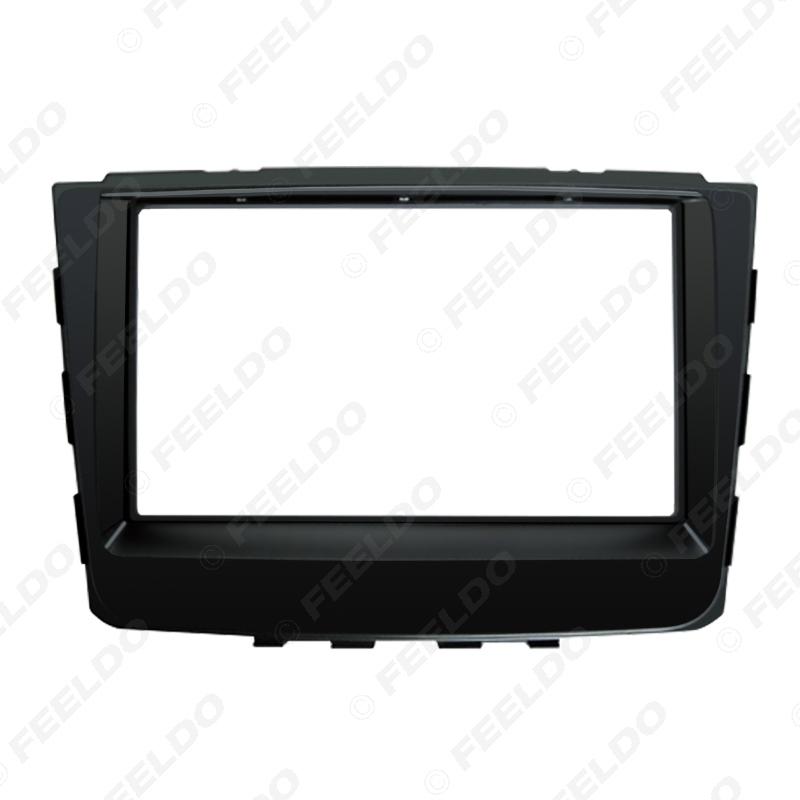 Picture of Car 2Din DVD Radio Fascia Frame for Hyundai IX-25 Creta 2014+ Dash Stereo Face Panel Installation Trim Kit