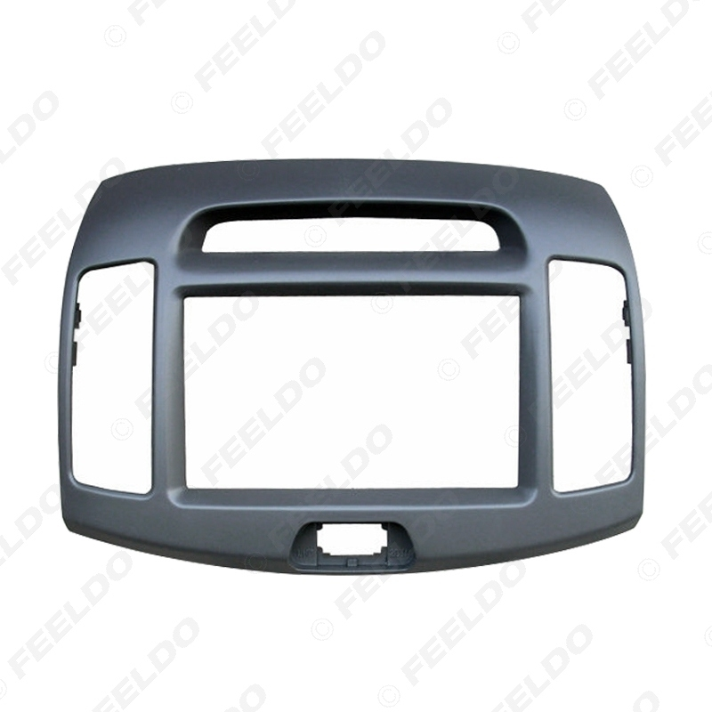 Picture of Car 2Din DVD Radio Fascia Frame for Hyundai Elantra 2006(Chinese Type)Stereo Face Panel Installation Trim Kit