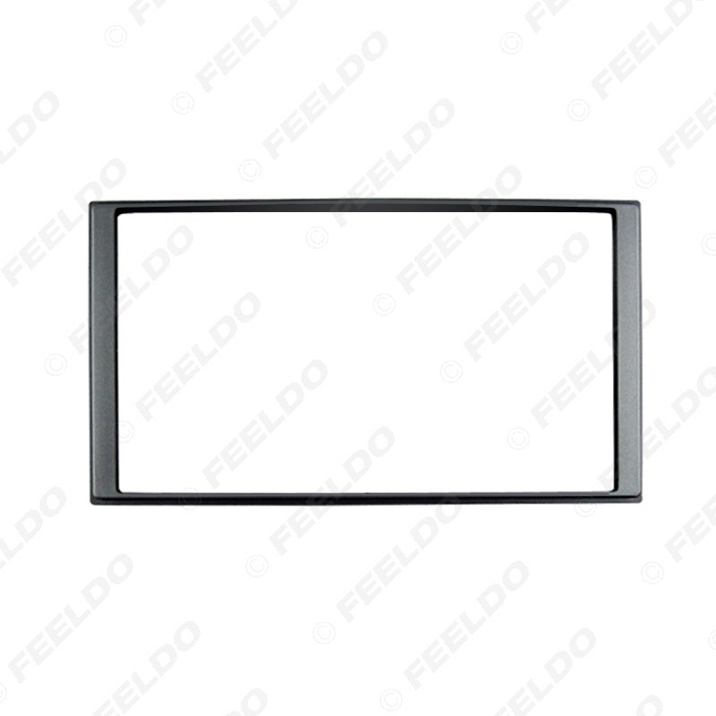 Picture of Car 2Din DVD Radio Stereo Fascia Frame Trim Kit for Hyundai Accent 2008 Face Panel Dash Installation Kit
