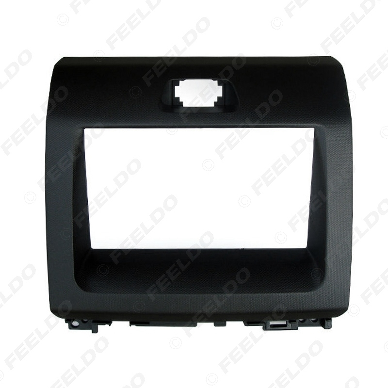 Picture of Car Double Din DVD Radio Fascia Frame for KIA Ray 2011 2012 Dashboard Panel Mount Adapter Trim Kit