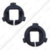 Picture of 2Pcs  Auto H7 HID Xenon Bulb Holder Base Adapter For Hyundai Veloster Genesis KIA K5 Volkswagen Polo Bracket Retainers Sockets