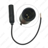 Picture of Universal Car Aerial Antenna Adapter Female Car Radio Audio Antenna Cable