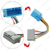 Picture of Car Stereo Audio Wire Cable Adapter For Honda Fit Transfer Wire Harness Convert Cable 1.3CD To 1.5CD Head Unit