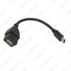 Picture of 30cm Car Audio CD/DVD 5pin mini USB Male to USB 2.0 Female Connection Cord T Interface OTG Data Cable