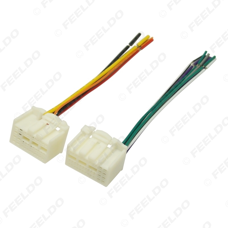 Picture of 35Pin Car Stereo Wire Harness Adapter Connector Plug Into Radio For KIA K2/K3/K4/Elantra/Mistra/Tucson (16~17) OEM Factory Radio