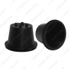 Picture of 2X Universal Waterproof Car HID LED Headlight Dustproof Cover Rubber Sealing Headlamp Cap Cover H/D 45mm/53mm