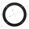 "Picture of 1pair 6.5"" Car Speaker Spacer Horn Pad Mounts For VW Bora/Lavida/Tiguan For Skoda Octavia/Yeti Solid Mat"