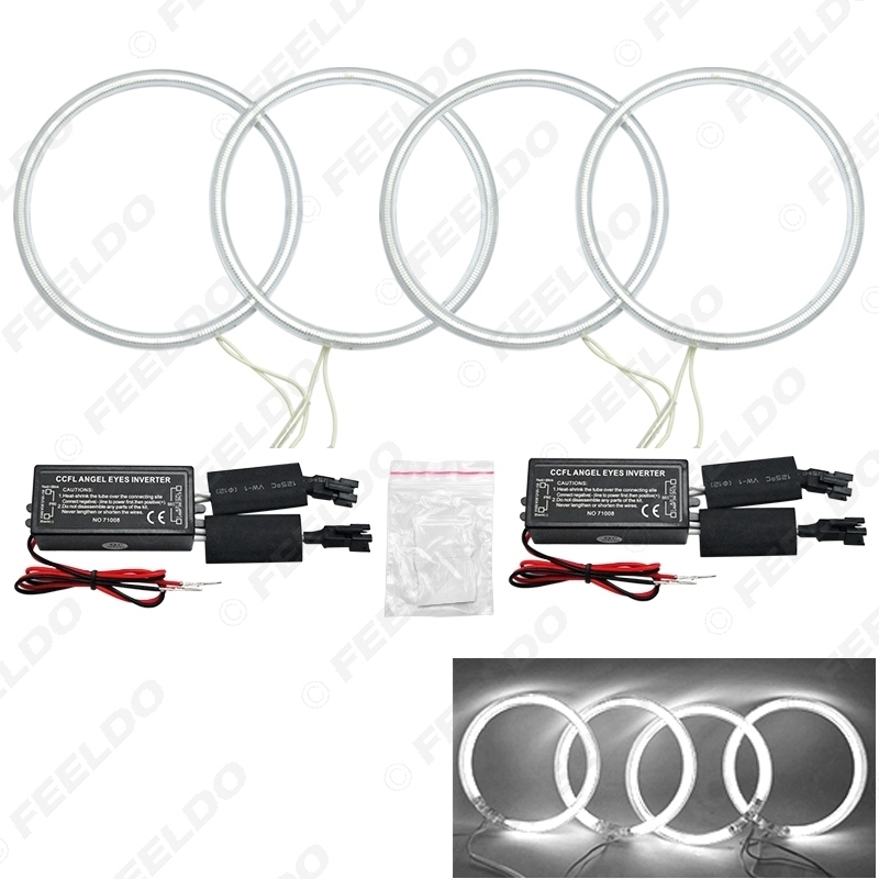 Picture of Car CCFL Angel Eyes Light Halo Rings Kits Headlight For Toyota Camry 07(Euro/US) DRL
