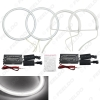 Picture of 4pcs/Set Car Headlight CCFL Angel Eyes Light Halo Rings Kits For Toyota Camry 02-03 DRL Car Styling