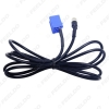 Picture of Car Stereo Female 3.5MM Jack Aux Adapter Cable For AUDI VW Passat Polo Bora with 2-Key Tool Radio Wire