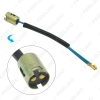 Picture of Car 1157/BAY15D LED Bulb Replacement Socket Holder Adapter With Extension Wire Harness