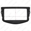 Picture of Car Stereo CD DVD Radio Fascia Panel Frame Trim Dash Face Plate Installation Mount Kit For Toyota RAV4 (2006-2012) OEM 2DIN Size