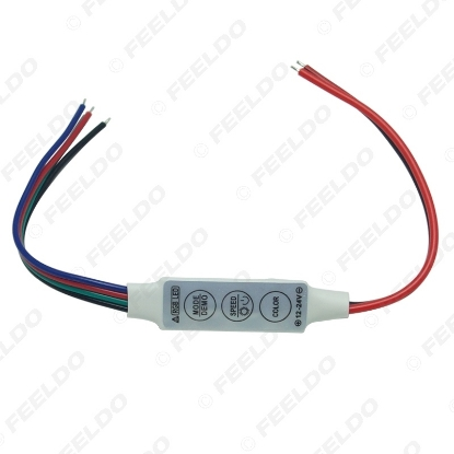 Picture of DC12V~24V LED Flasher Module Flash Strobe Controller With 4-Wire Connecotr For LED Strip Light