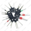 Picture of 18pcs/set Auto Plug Terminal Extraction Repair Tool Circuit Board Wire Harness Disassembled Crimp Pin Back Needle Remove Tool