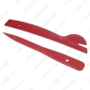 Picture of 6pcs Red DIY Auto Door Radio Panel Dash Trim Removal Pry Opening Tools Set Car Repair Tool Kit Plastic Hand Tools