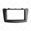Picture of Car Audio Radio Fascia Plate Panel Frame for Mazda 3 2010-2013 2DIN Installation Dash Mount Trim Kit