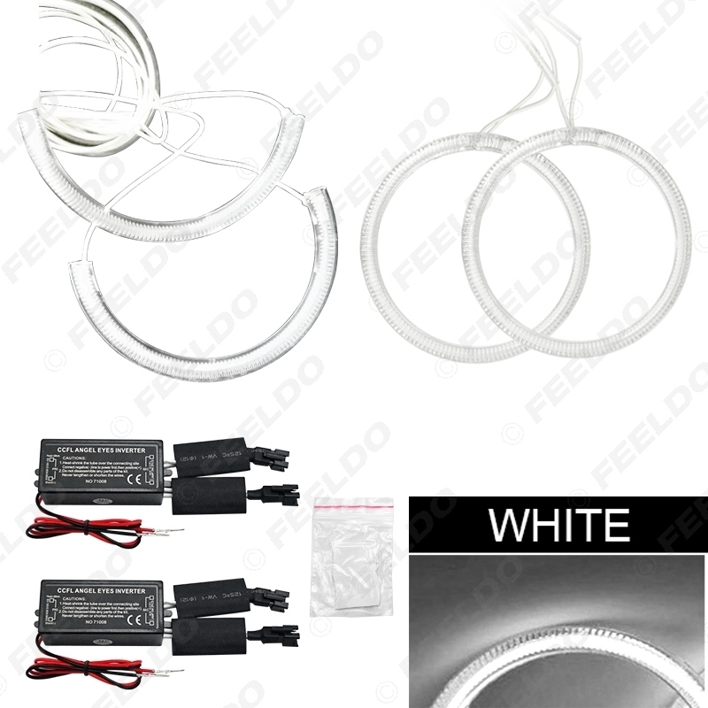Picture of 4pcs/Set Car CCFL Angel Eyes Light Halo Rings Kits For Toyota Wish Car Styling Headlight