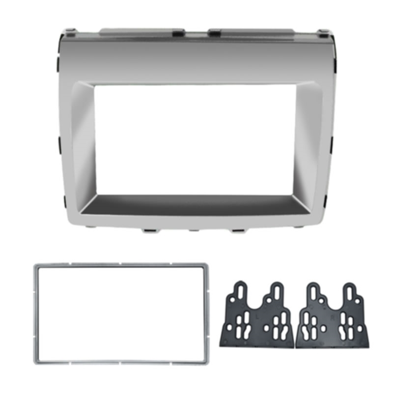 Picture of 2DIN Car Stereo Radio Fascia Frame For For Mazda MPV 2006+ Mazda 8 Audio Interface Plate Panel Dash Trim Kit
