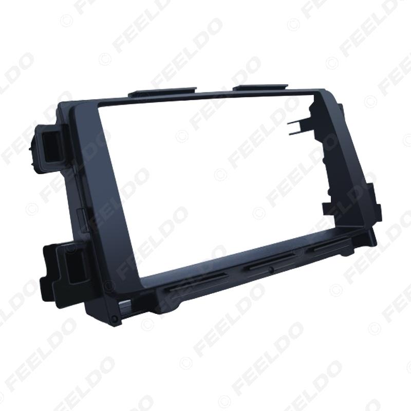 Picture of Car Stereo Fascia Frame For MAZDA CX-5 12-17 Atenza 12-15 Audio Plate Panel 2DIN Dash Mount Trim Kit