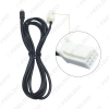 Picture of Car Aux Audio Input Media Data Wire Adapter 8-Pin Port for Subaru Forester 6-Disc CD 3.5mm Female Aux Electronic Cable