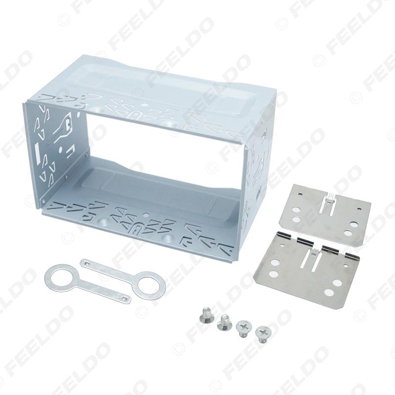 Picture of Car Radio 2DIN Installation Metal Cage Kits Brackets/Screws/Keys for Volkswagen 1997-2009 Series Jetta Chico Golf Bora/Polo/MK3/MK4