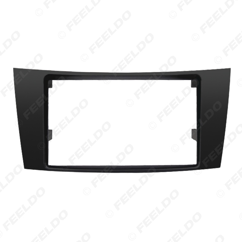 Picture of Car 2Din Stereo CD/DVD Panel Fascia Stereo Frame For Mercedes BENZ E CLASS W211 CD Radio Dash Panel Installation Kits