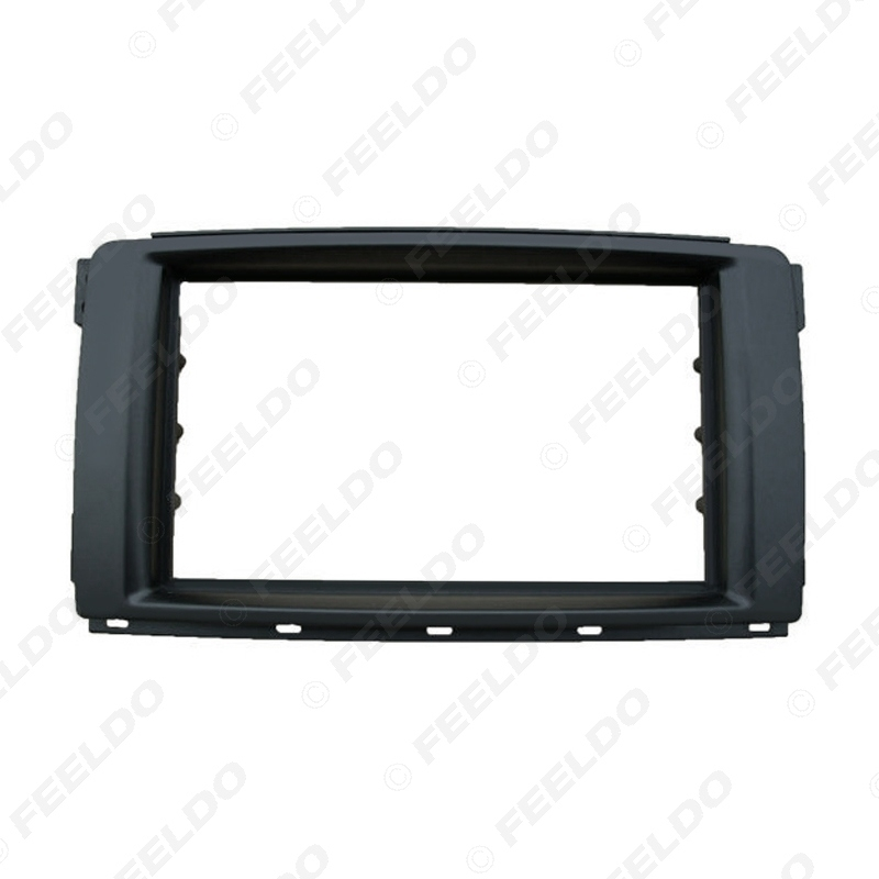 Picture of 2Din Car Stereo Radio Panel Fascia Stereo Frame Trim For Mercedes BENZ Smart 2010 Dash Refitting Kit