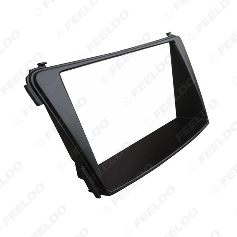 Picture of Car 2Din Stereo Fascia Frame Installation Kit For Hyundai I-45 I-40 I45 I40 2012 CD/DVD Dashboard Refitting Panel Frame Adapter