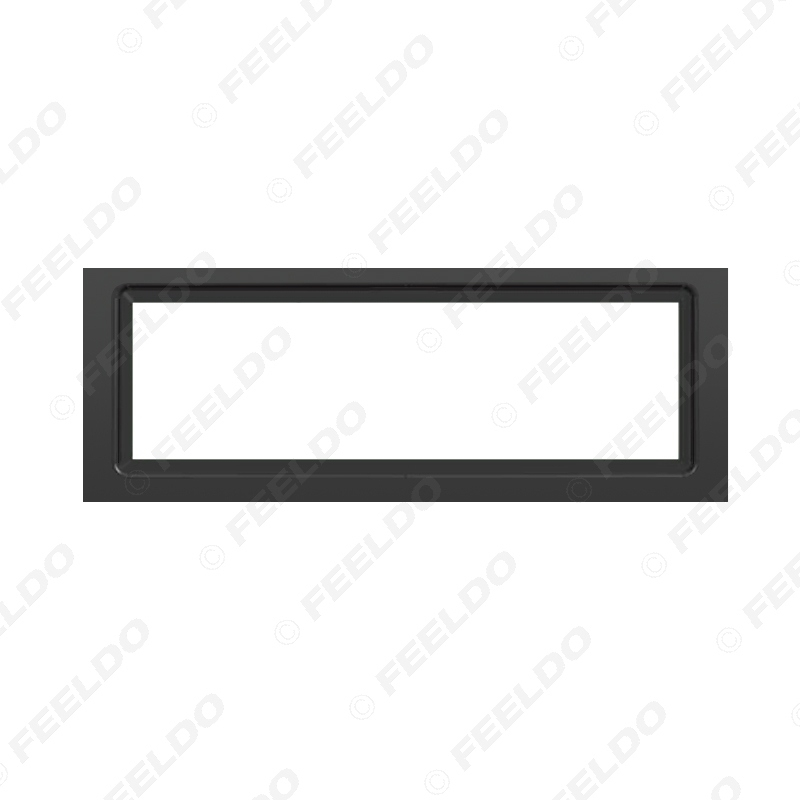 Picture of Car 1DIN Refitting Radio Panel Fascia Frame For Citroen C5 PEUGEOT (407) Coupe Stereo Face Plate Dash Mount Trim Kit