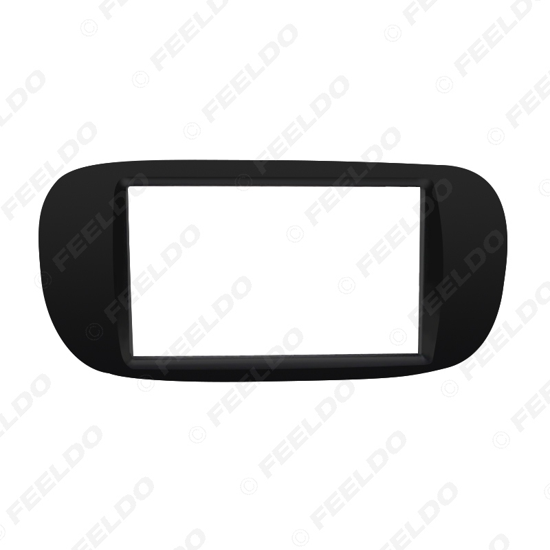 Picture of Car Radio Audio 2DIN Panel Fascia Frame for FIAT 500 2007-2015 Stereo Face Fascia Plate Dash Trim Installation Kit