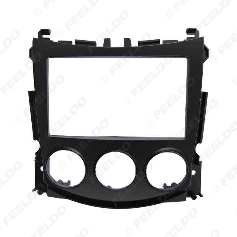 Picture of 2DIN Car Radio Audio Panel Plate Fascia Frame for NISSAN 370Z 2009-2012 Stereo DashBoard Fitting Adaptor Frame Trim Kit