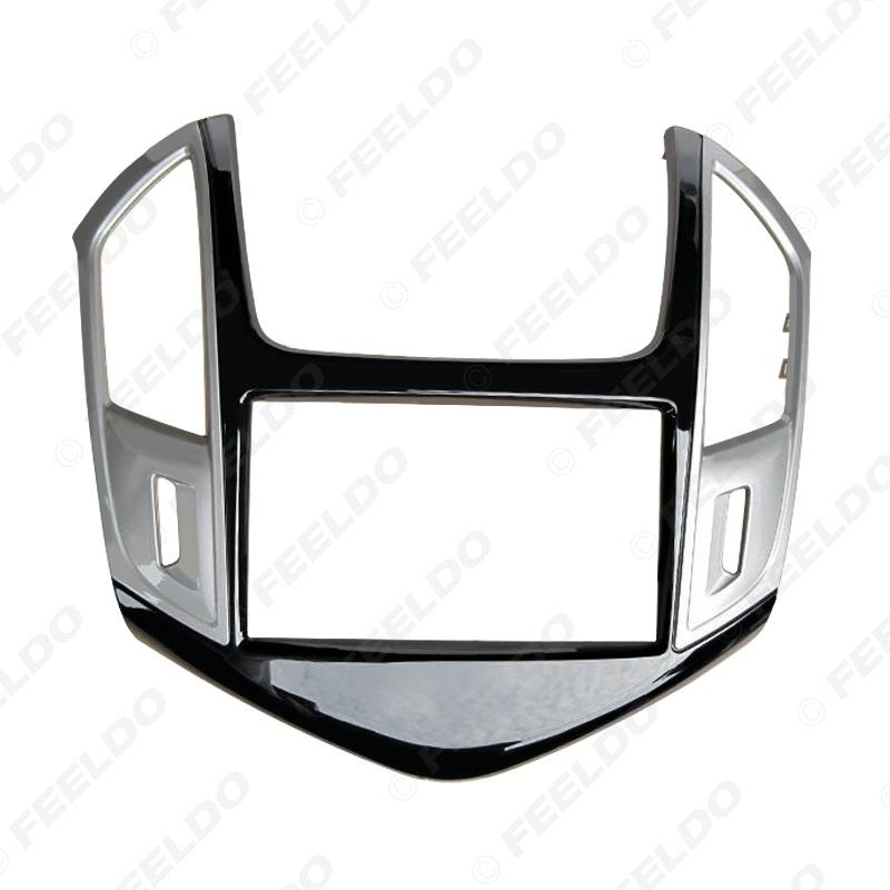 Picture of Car Refitting Radio DVD Panel Fascia Frame Adaptor For CHEVROLET Cruze 2012+ Stereo 2Din Dash Fitting Frame Mount Trim Kit