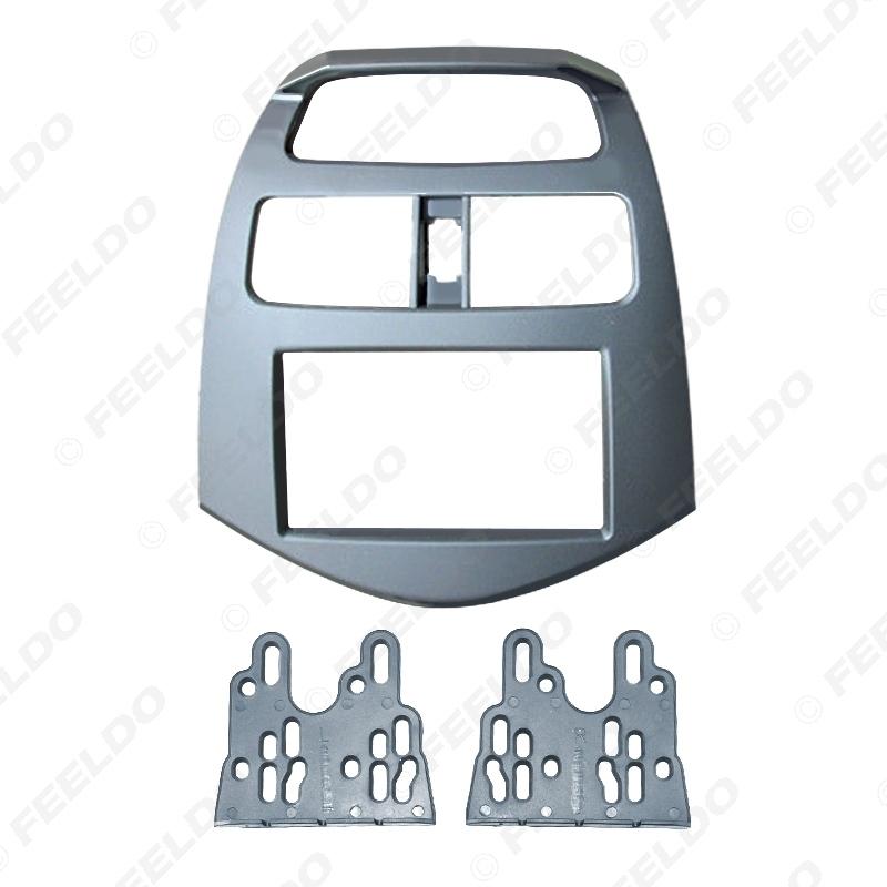 Picture of Car 2Din Refitting Stereo Radio Fascia Frame For Chevrolet Spark Daewoo Matiz Holden Barina Dash Fitting Panel Frame Mount Kit
