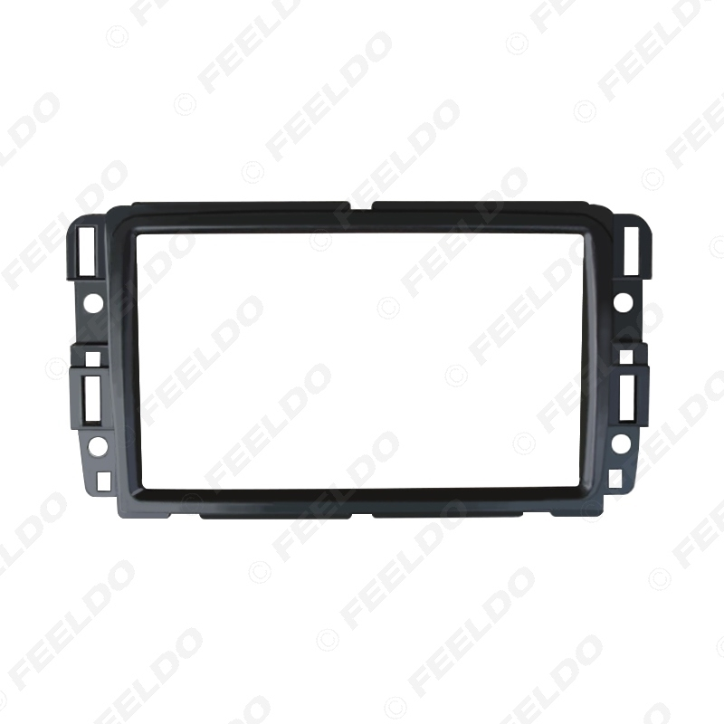 Picture of Car 2Din Radio Stereo DVD Fascia Frame For CHEVROLET Traverse BUICK Enclave GMC Acadia Dash Fitting Mount Panel Frame Trim Kit