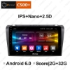 """Picture of 9"""" 2.5D Nano IPS Screen Android 6.0 Octa Core/DDR3 2G/32G/4G LTE Car Media Player With GPS/FM/AM RDS Radio/Bluetooth /Mirror Link/USB/SD For Mazda 3 2007-2012"""