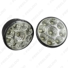 Picture of Car 9LED LED Light Round Daytime Running Light DRL With Automatic Switch E4 RL00 0087