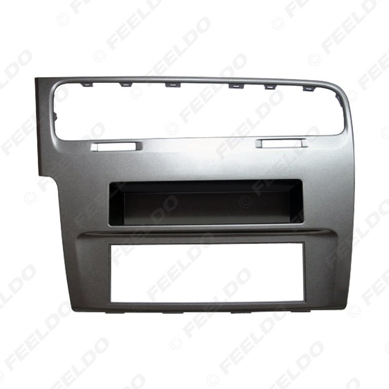 Picture of Car 1DIN Audio Radio Fascia Frame Adapter For VOLKSWAGEN Golf 7 2012+ Stereo Plate Panel Frame Dash Installation Mount Bezel