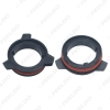 Picture of 2x LED Headlight Retainers Clip Holder Adapter for BMW 5 Series 520 525 530 535 540 H7 LED Bulb Socket Holder