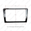 Picture of Glossy Black Car Refitting Radio Stereo Frame Fascia For Volkswagen Bora 2013-2015 2DIN DVD Dash Panel Frame Installation Kits