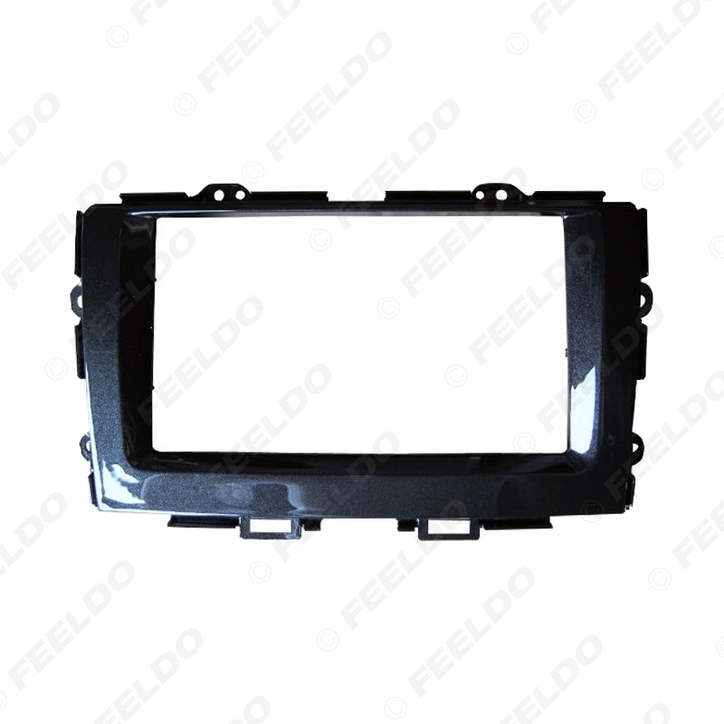 Picture of Car 2DIN Refitting Radio Fascia Panel Frame For HONDA Crider 2013-2018 Stereo Dashboard Face Frame Installation Mount Kit
