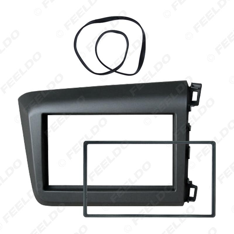 Picture of Car Radio Fascia Frame DVD 2Din Panel Stereo Interface Refit Installation Kit For HONDA Civic (RHD) 2011-2013 Dash Frame