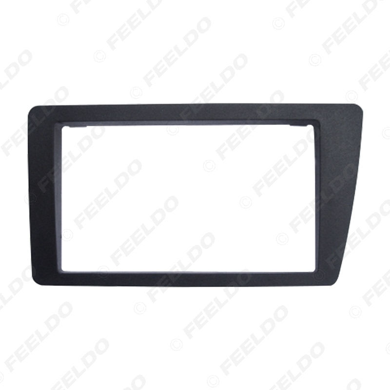 Picture of Car 2Din Stereo Radio Fascia Frame Panel for HONDA Civic (LHD) 2001-2006 Dash Fitting Kit Installation Plate Bezel